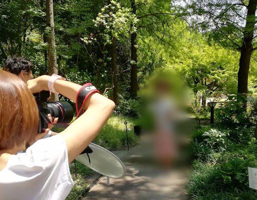 ドキドキのプロフィール撮影